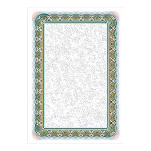 Dekoratyvinis popierius SREBRO, A4, 170 g/m2, 25 lapai