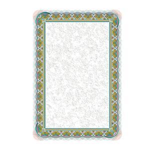 Dekoratyvinis popierius SREBRO, A4, 250 g/m2, 20 lapų