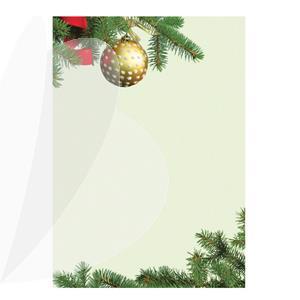 Dekoratyvinis popierius CHOINKA, A4, 100 g/m2, 50 lapų