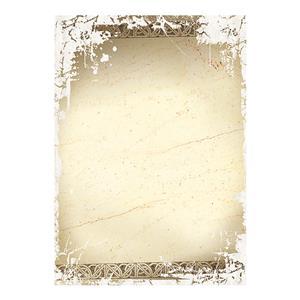 Dekoratyvinis popierius ANTYK A4, 170 g/m2, 25 lapai