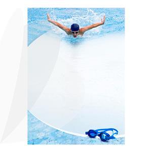 Dekoratyvinis popierius DYPLOMY SWIMMING A4, 25 lapai/pak., 170 g/m2