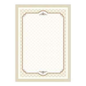 Dekoratyvinis popierius DYPLOMY RETRO, 170 g/m², 25 lapai/pak.