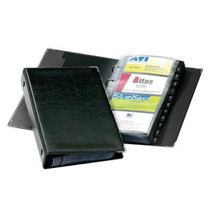 Vizitinių kortelių albumas DURABLE VISIFIX, 200 kortelių