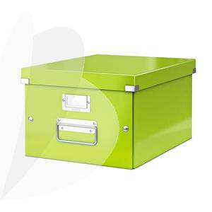 Archyvavimo dėžė LEITZ WOW, sudedama, A4, 281 x 200 x 369 mm