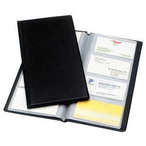 Vizitinių kortelių albumas ESSELTE, 128 kortelių
