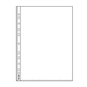 Įmautės dokumentams ELLER, A4, 40 mikr., (pak.-100 vnt.), skaidrios
