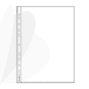 Įmautė dokumentams ECO, A4, 20 mikr., (pak.-100 vnt.), skaidri