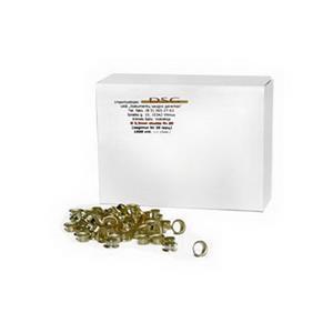 Metalinės kniedės, 5,5mm, sega iki 15 lapų.