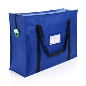 Saugus krepšys dokumentams A4, juoda sp.