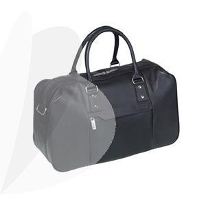 Laisvalaikio krepšys PIERRE by Elba Urban Line, tamsiai ruda sp.