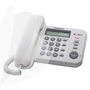 Telefonas Panasonic KX-TS560, Balta