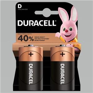 Baterijos DURACELL Copper&Black D LR20, 2 vnt.