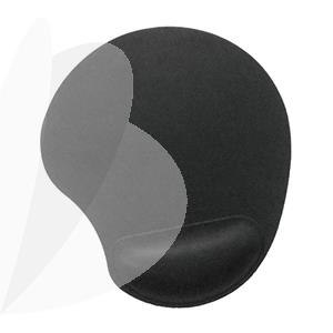 Pelės kilimėlis Gembird Gel, juoda sp.