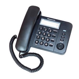 Telefonas Panasonic KX-TS520, Juoda
