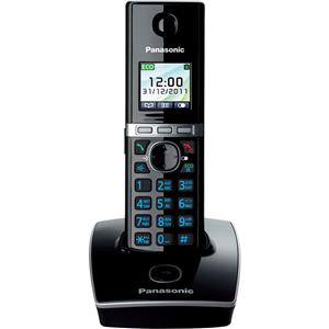 Belaidis telefonas  PANASONIC KX-TG8051FXB, Juoda