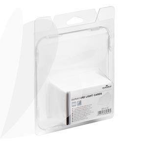 Plonos plastikinės kortelės DURACARD, 100vnt
