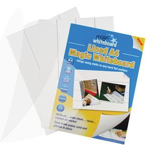 Plėvelė MAGIC Whiteboard , A4, 20 lapų, balta