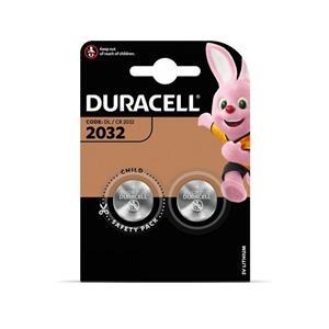 Baterija DURACELL Lithium 2032, 2 vnt.