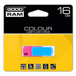 Atmintinė USB 2.0 COLOUR MIX, 16GB