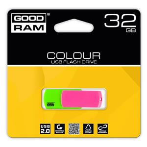 Atmintinė USB 2.0 COLOUR MIX, 32GB