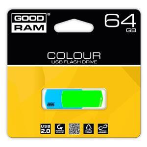 Atmintinė USB 2.0 COLOUR MIX, 64GB