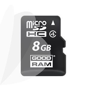 Atminties kortelė microSDHC class 4, 8GB