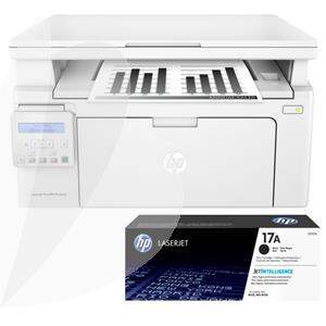 Daugiafunkcinio įrenginio komplektas: HP LaserJet Pro MFP M130nw + HP 17A Tonercartridge black