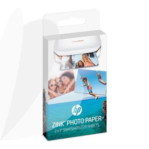 Fotopopierius HP ZINK Sticky-Backed, 50x76 mm, 290g/m2, 20 lapų