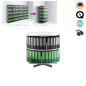 Rotacinis stovas Depotfile (2 lygiai)