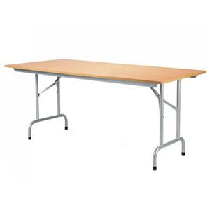 Sulankstomas konferencijų stalas RICO, aliuminis rėmas, 800x1600x725mm