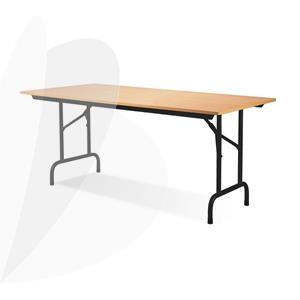 Sulankstomas konferencijų stalas RICO, juodos sp. rėmas, 800x1600x725mm