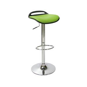 Baro kėdė Office4You Aldo, juoda/žalia sp.