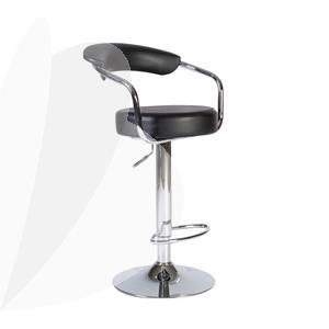 Baro kėdė Office4You LEON, juoda sp.