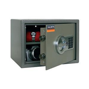 Baldinis atsparūs įsilaužimams seifai VALBERG TM25 EL Užrakto tipas - Elektroninis