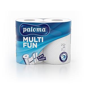 Popierinis rankšluostis PALOMA MAXI, 2 vnt