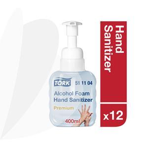 Alkoholinių putų rankų dezinfekanto buteliukas TORK 511104