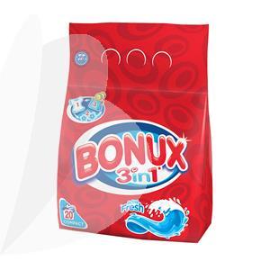 Skalbimo milteliai BONUX Active Fresh, automat, 1,5 kg