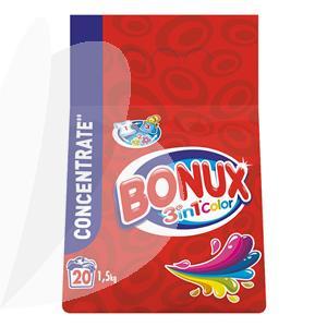 Skalbimo milteliai BONUX Color, automat, 1,5 kg