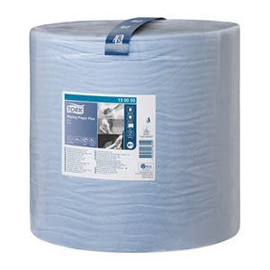 Pramoninis popierius TORK Advanced 420 W1, 130050,  2 sl, 1500 l., 36.9 cm x 510 m, mėlynos spalvos