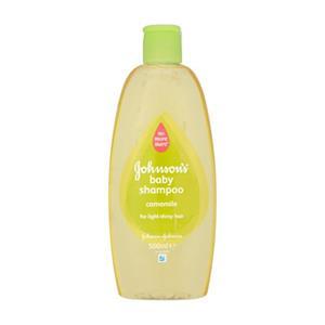 Šampūnas JOHNSON'S BABY su ramunėlių ekstraktu, 500 ml