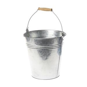 Metalinis kibiras, cinkuotos, 10 l