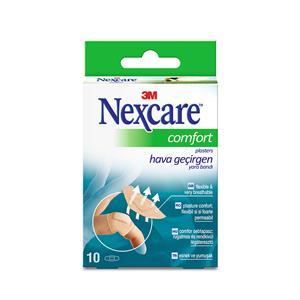 Pleistrų rinkinys 3M Nexcare Comfort 360, 22 x 57 mm, 10 vnt./pak.