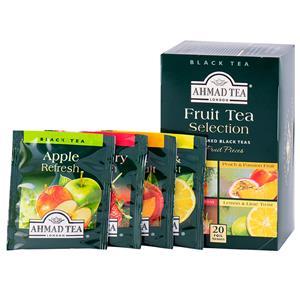 Vaisinė arbata AHMAD FRUIT SELECTION, 20 arbatos pakelių po 2 g