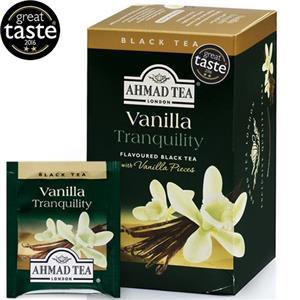 Vaisinė arbata AHMAD VANILLA TEA 20 vokelių su siūlu po 2 g