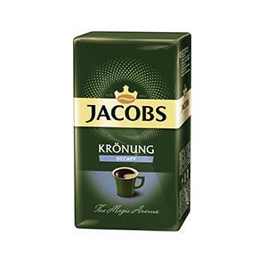 Kava JACOBS KRÖNUNG, be kofeino, malta, 250 g