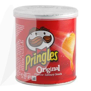 Bulvių traškučiai PRINGLES, originalūs, 40 g
