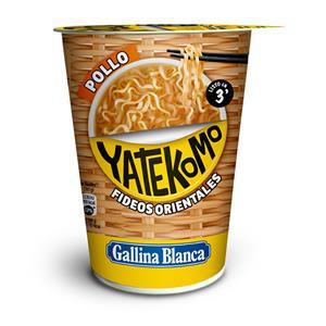 Greitai paruošiami makaronai YATEKOMO, vištienos skonio, 60 g