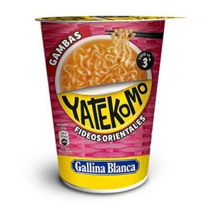 Greitai paruošiami makaronai YATEKOMO, krevečių skonio, 60 g