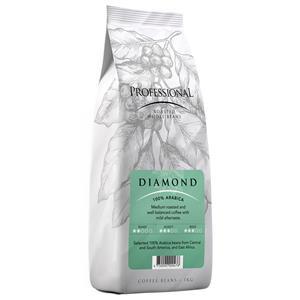 Kavos pupelės BLACK COFFEE PROFESSIONAL DIAMOND, 1 kg