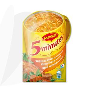 Užpilama vištienos sriuba su makaronais MAGGI, 14 g